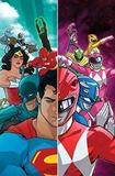 Justice League/Power Rangers by Tom Taylor