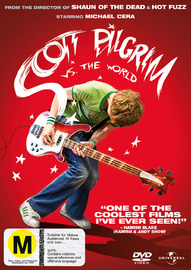 Scott Pilgrim Vs. The World on DVD