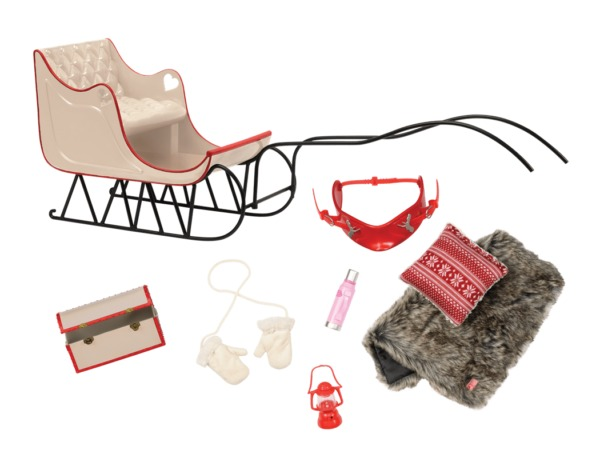 Our Generation: Winter Wonder Sled - Playset