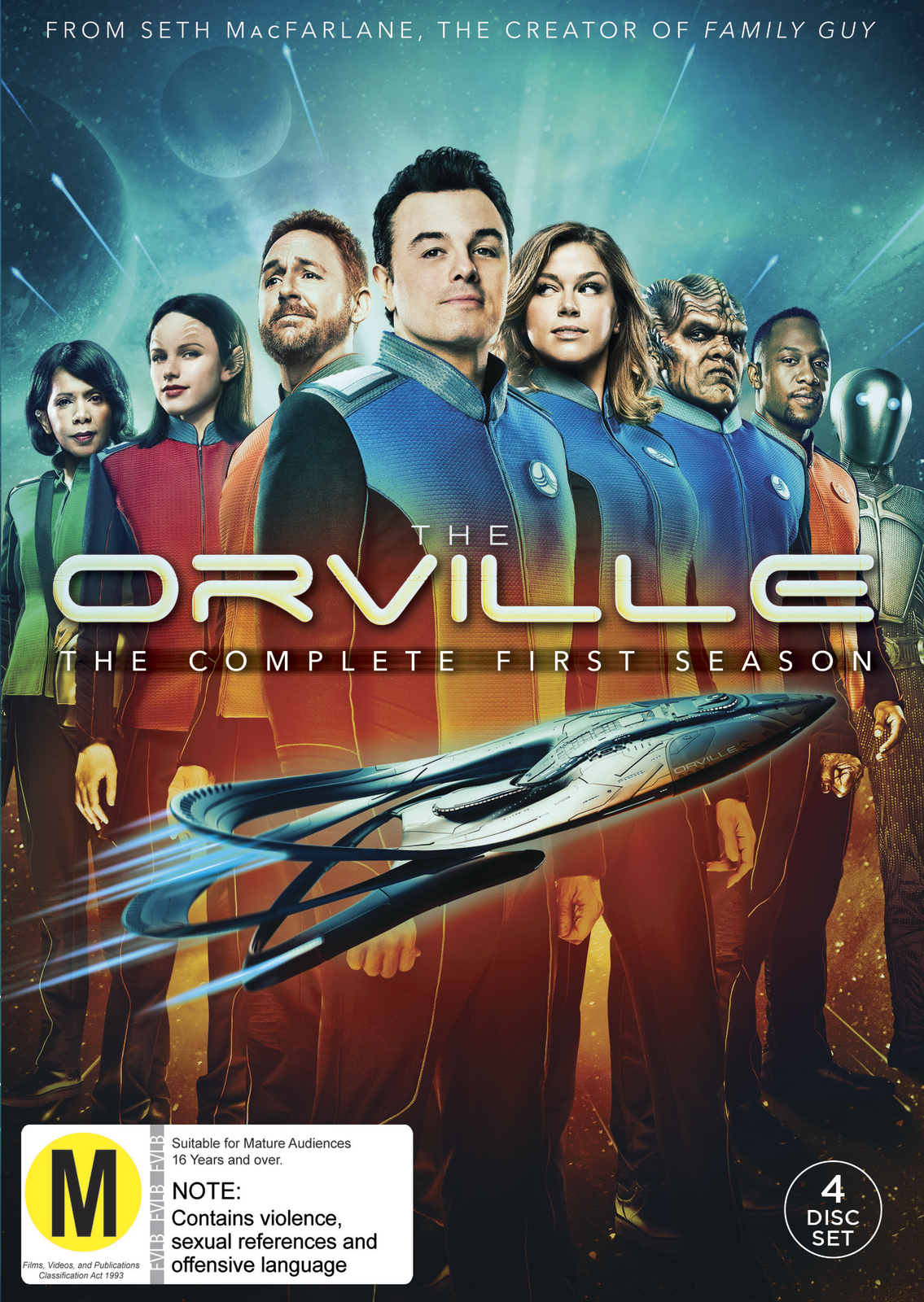 The Orville: Season 1 on DVD image