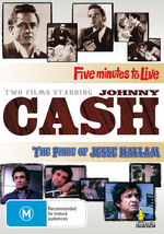 Two Films Starring Johnny Cash - Five Minutes To Live / The Pride Of Jesse Hallam (2 Disc Set) on DVD