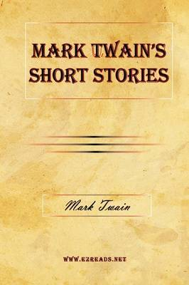 Mark Twain's Short Stories by Mark Twain ) image