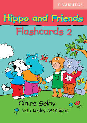 Hippo and Friends 2 Flashcards Pack of 64 by Claire Selby image