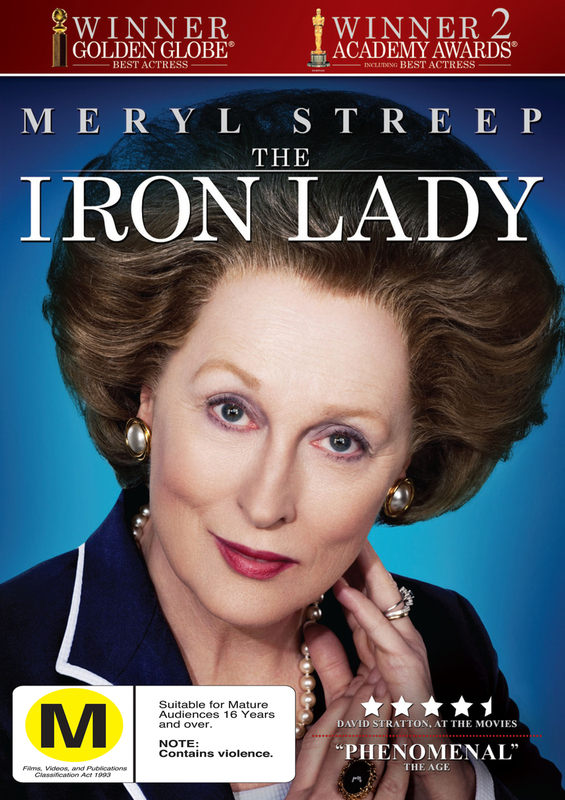 The Iron Lady on DVD