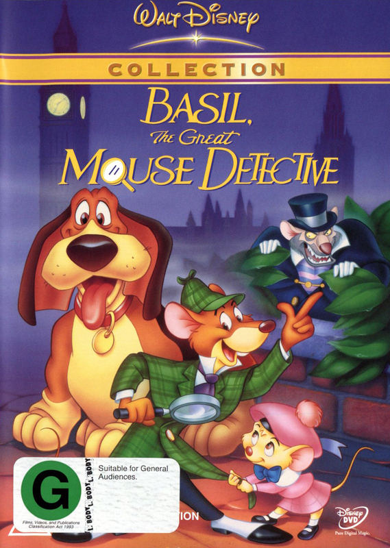 Basil The Great Mouse Detective on DVD