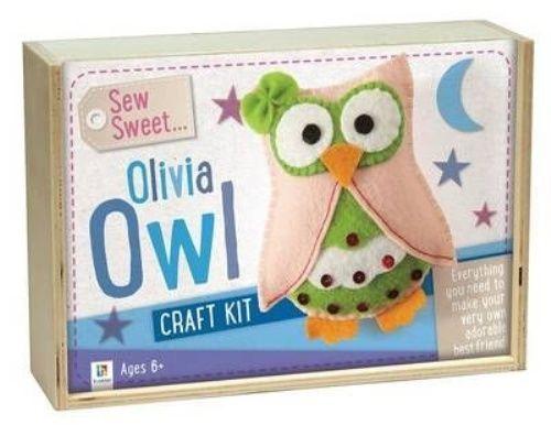 Sew Sweet: - Olivia Owl Craft Kit