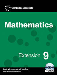 Cambridge Essentials Mathematics Extension 9 Pupil's Book: Year 9 by Graham Newman image