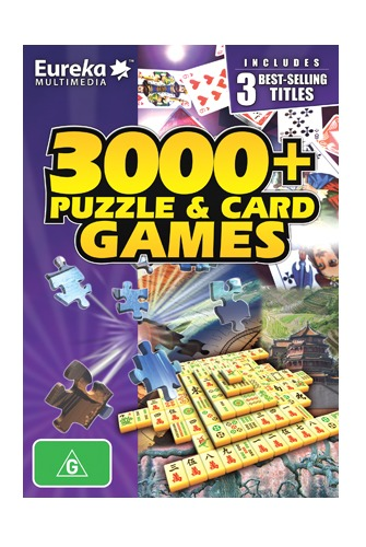 Eureka 3000+ Puzzle & Card Game for PC