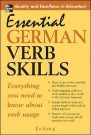 Essential German Verb Skills by Ed Swick image