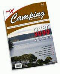 Spot X Camping New Zealand: Over 3000 Motorhome and Camping Sites by Mark Airey