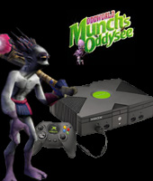 Xbox Console + Oddworld: Munch's Oddysee for Xbox