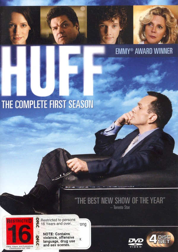 Huff: The Complete First Season on DVD image