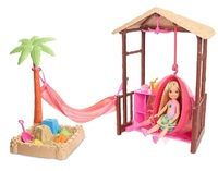 Barbie: Chelsea's Tiki Hut - Doll Playset