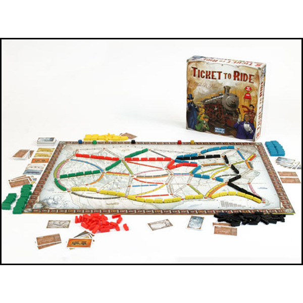 Ticket to Ride: USA image