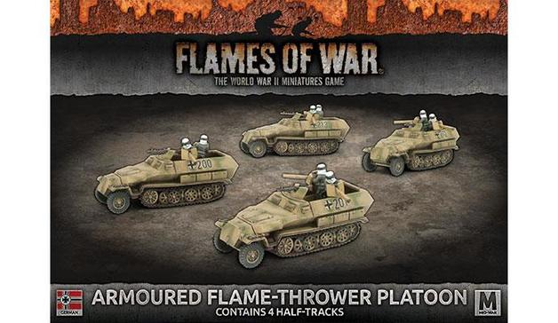Flames of War: Armoured Flame-Thrower Platoon
