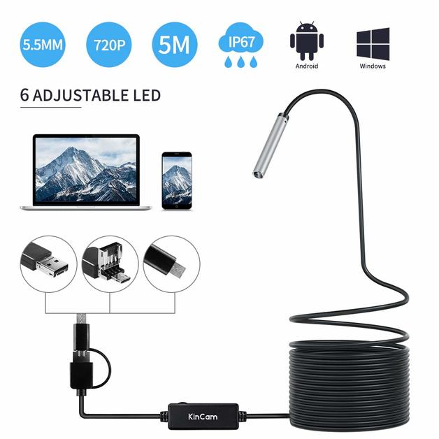 3 in 1 Mobile Phone Endoscope Set