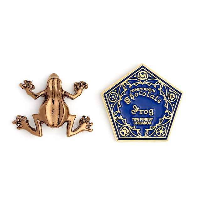 The Carat Shop: Harry Potter Chocolate Frog Pin Badge