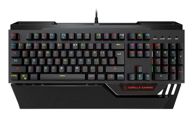 Gorilla Gaming Mechanical Keyboard for PC