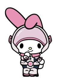 My Hero Academia x Sanrio My Melody: Ochaco Uraraka (#393) - Collector's FiGPiN