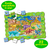 Puzzle Double - Find It Dinosaurs