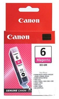 Canon Ink Cartridge - BCI6M (Magenta) image