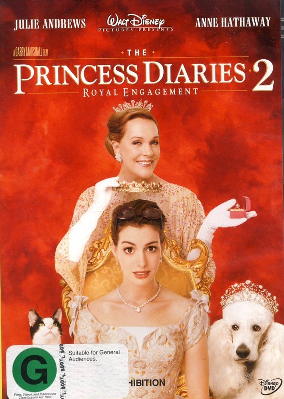 Princess Diaries 2, The - Royal Engagement on DVD
