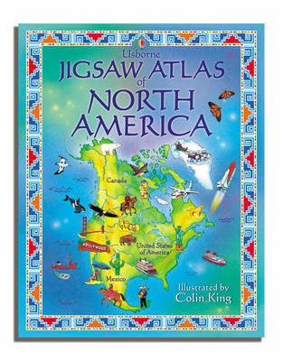 Atlas of North America by Colin King