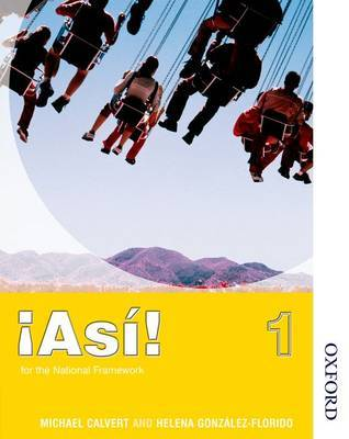 !Asi! 1 Students' Book by Mike Calvert