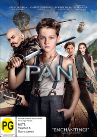 Pan on DVD