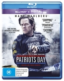 Patriots Day on Blu-ray, UV