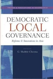 Democratic local governance by United Nations University
