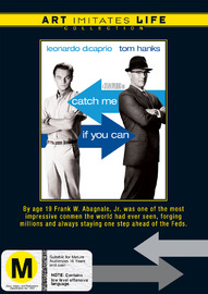 Catch Me If You Can (Art Imitates Life Collection) on DVD image
