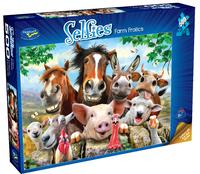 Holdson: 500 Piece Puzzle - Selfies S2 (Farm Frolics)