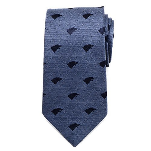 Game of Thrones Stark Geometric Sword Blue Men's Tie image