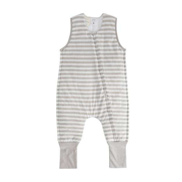 Woolbabe: Duvet Sleeping Suit - Pebble (1 Year)