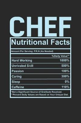 Chef Nutritional Facts by Dennex Publishing