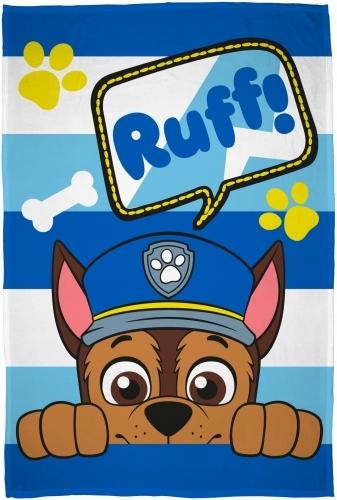 Paw Patrol: Fleece Blanket - Ruff!