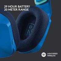 Logitech G733 LIGHTSPEED Wireless RGB Gaming Headset - Blue for PC