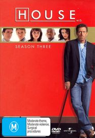 House, M.D. - Season 3 (6 Disc Set) on DVD