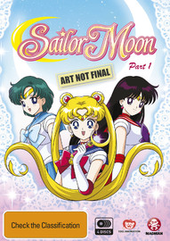 Sailor Moon Part 1 on DVD