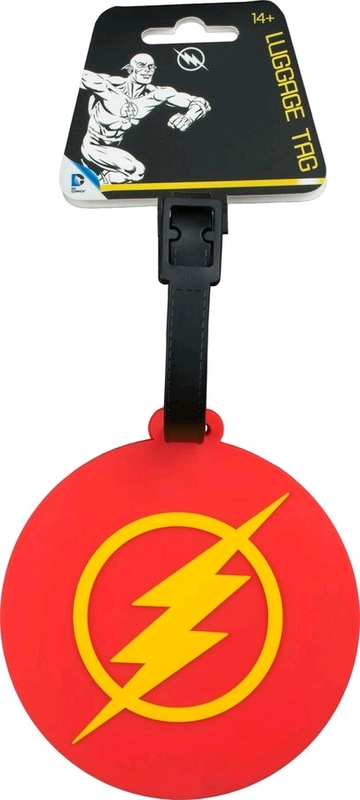 DC Comics: Flash Logo - Luggage Tag