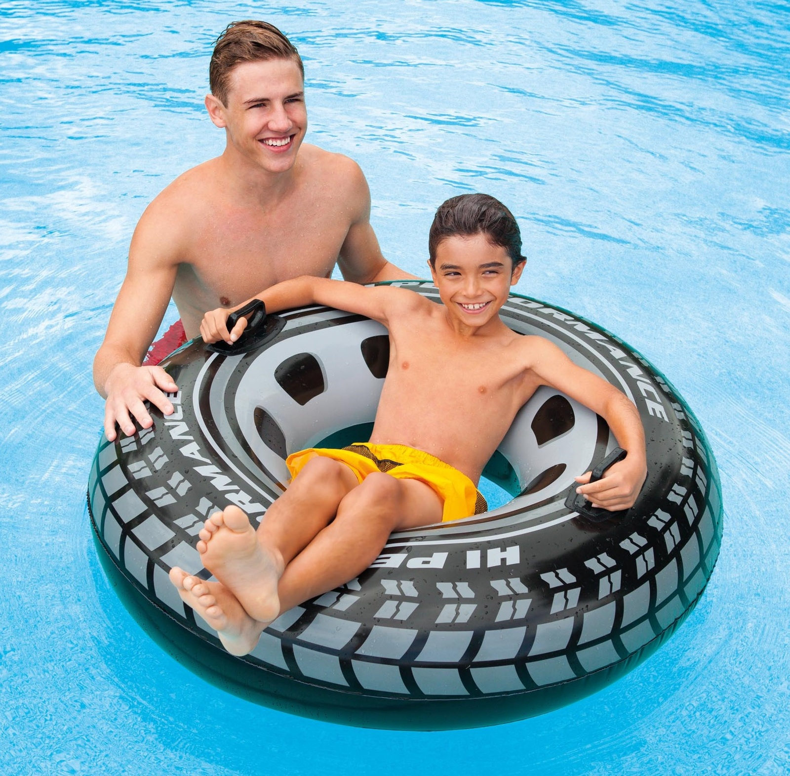 Intex monster truck pool tube toy at mighty ape australia for Intex swimming pools australia