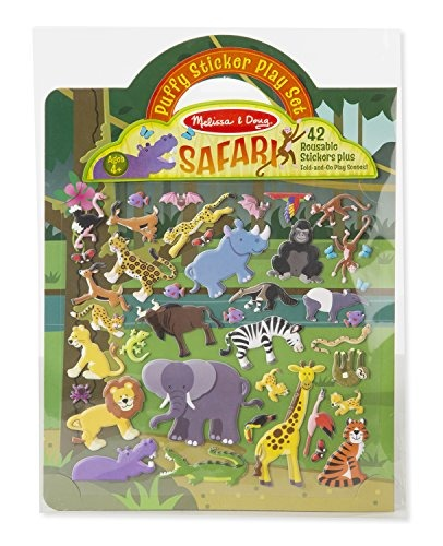 Melissa & Doug: Puffy Sticker Play Set - Safari