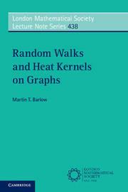 Random Walks and Heat Kernels on Graphs by Martin T Barlow image