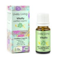 Organic Essential Oil Blend - Vitality (10ml)