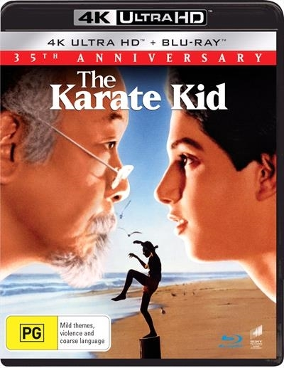 The Karate Kid (1984) on UHD Blu-ray