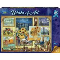 Holdson: 1000 Piece Puzzle - Works of Art (Van Gogh Studio)