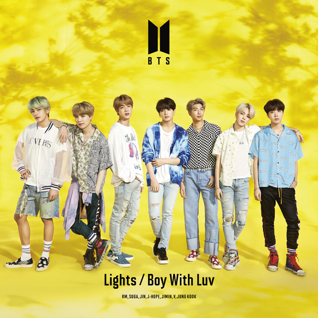 Lights / Boy With Luv - Limited Edition (A) by BTS