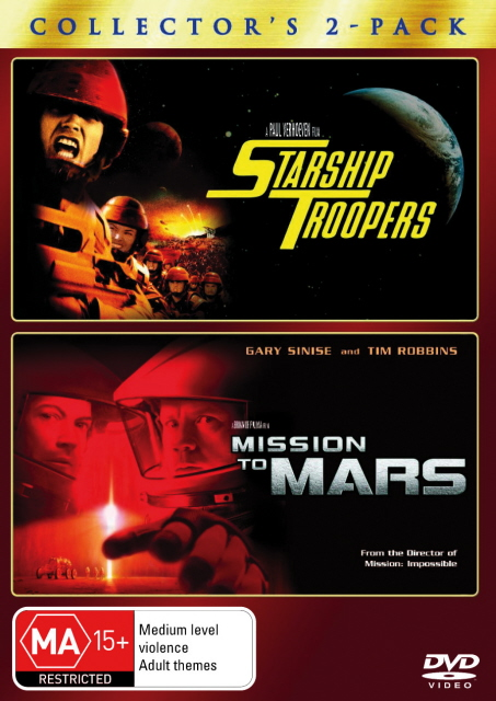 Starship Troopers / Mission To Mars - Collector's 2-Pack (2 Disc Set) on DVD image