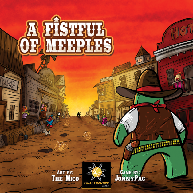 A Fistful of Meeples - Board Game